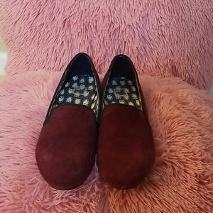 Maroon Loafers